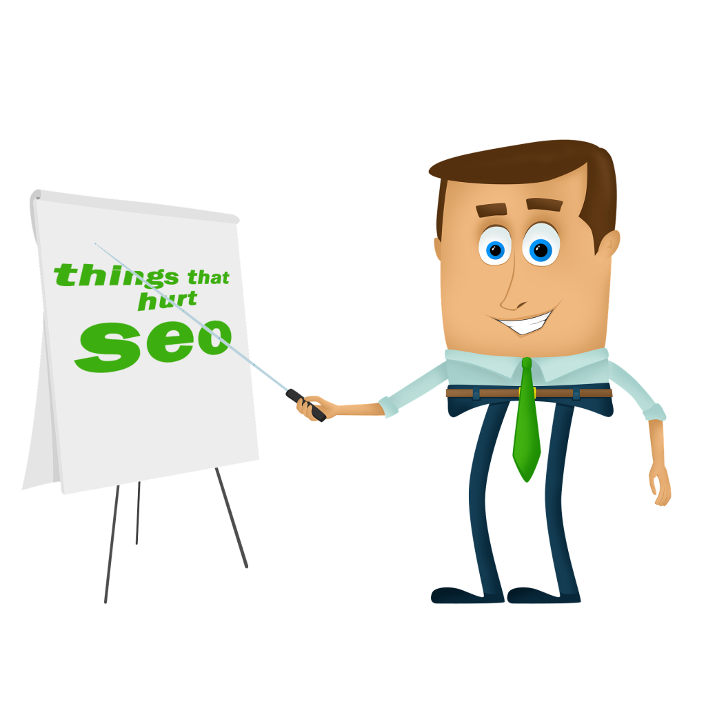 things that hurt SEO