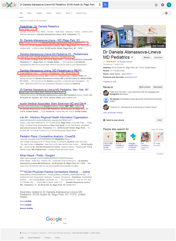 local SEO competitor analysis