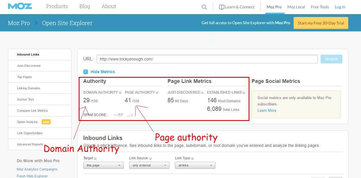 how increase domain authority