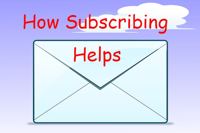 how subscribing can help to grow blog traffic