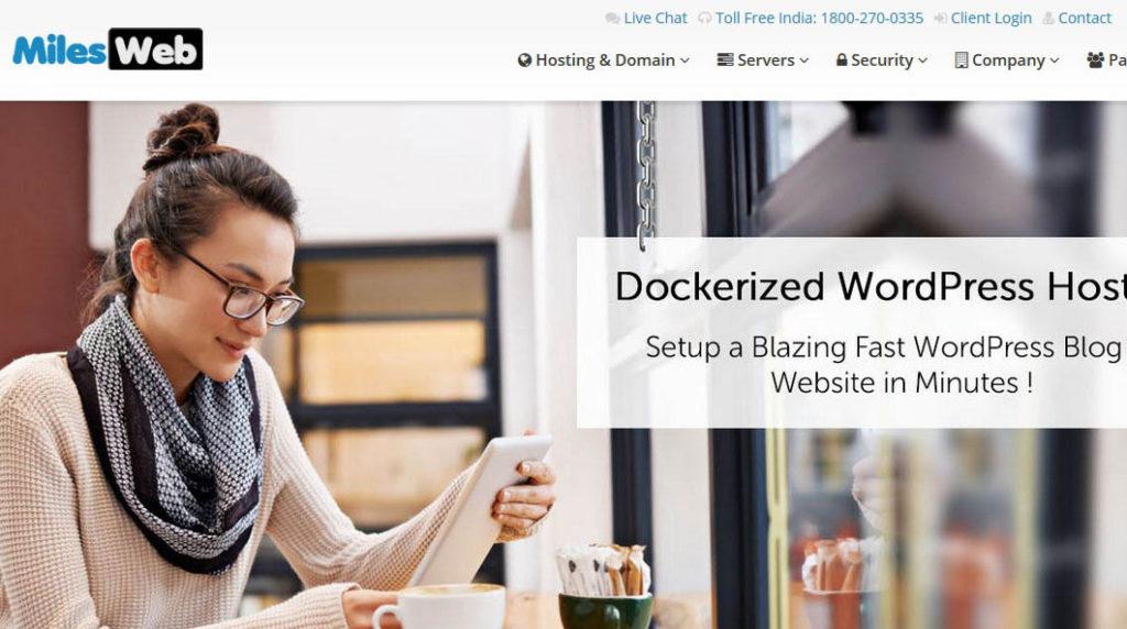 MilesWeb WordPress Hosting Review