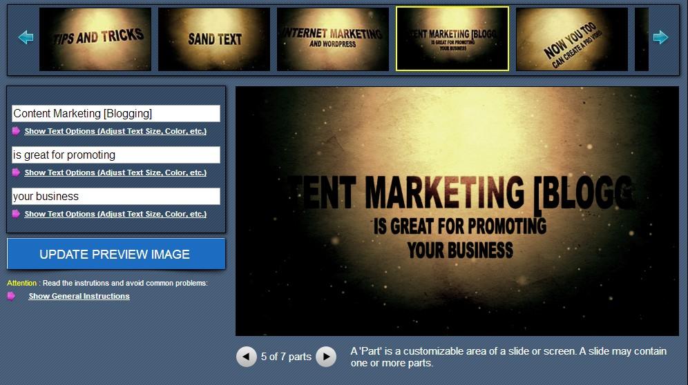 make web video dashboard