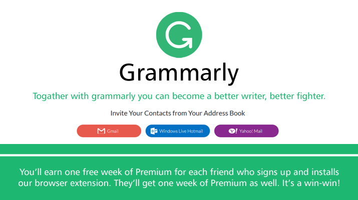 Grammarly coupon code