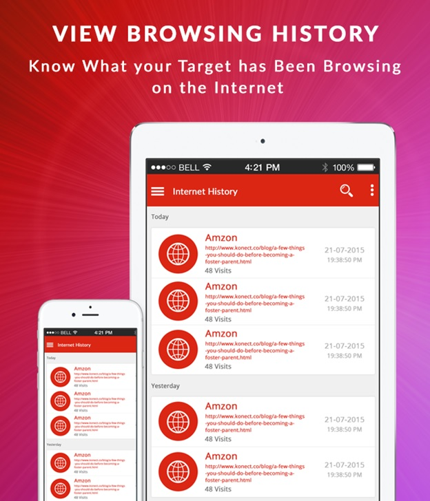 Xnspy An All Sorts Browser History Monitoring App Tricky Enough