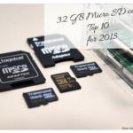Micro SD 32 GB cards