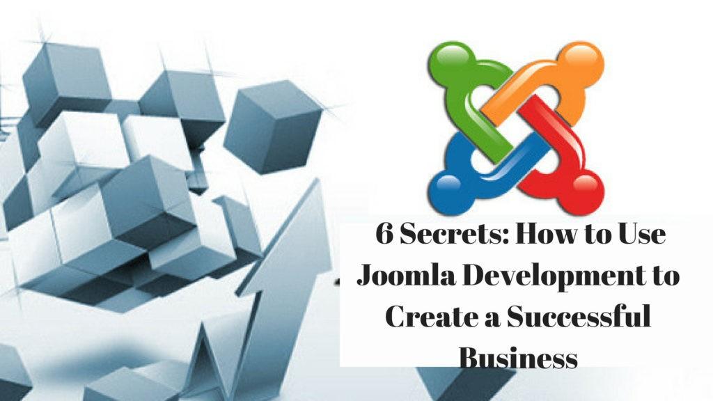 How to Use Joomla Development