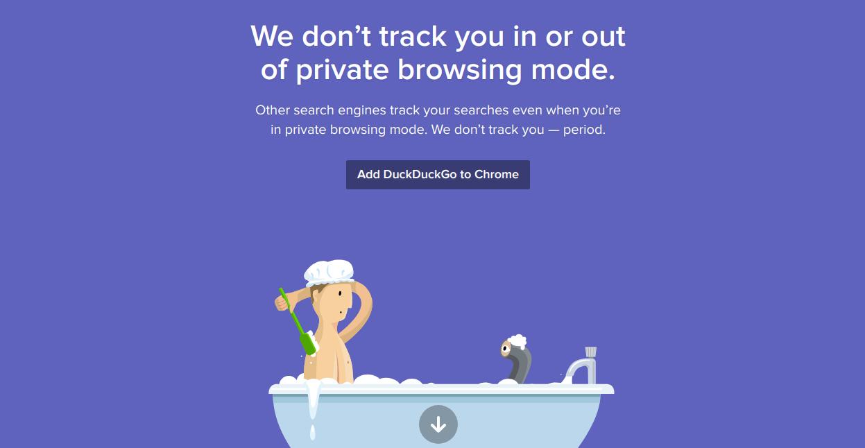 Duck Duck Go search engine – Advantage over Google.