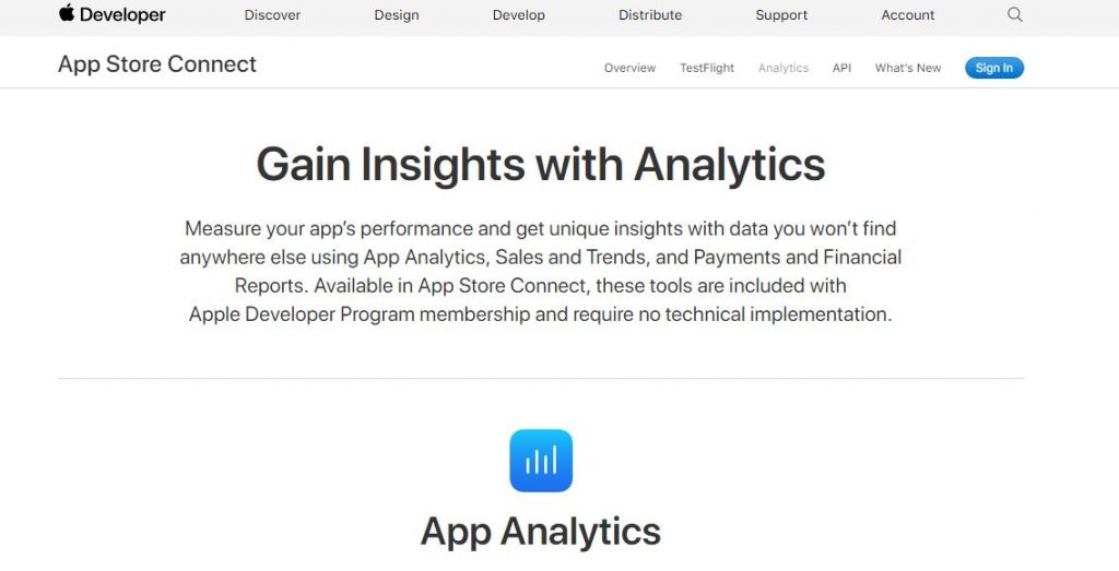 APP ANALYTICAL TOOLS