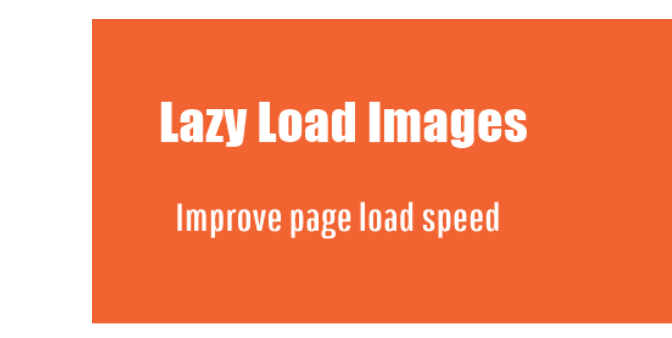 Lazy Load Effect to Images