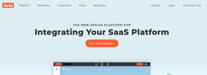 Duda- the website builder for responsive websites
