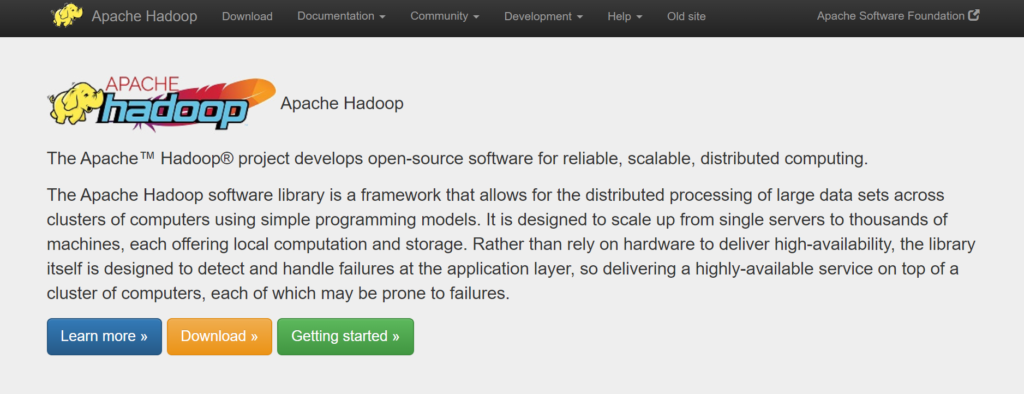 apache hadoop, java programming, frameworks, open source language