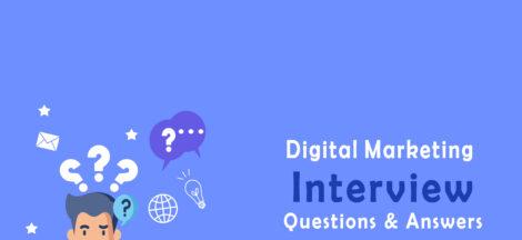 Digital Marketing Job Interview Questions & Answer