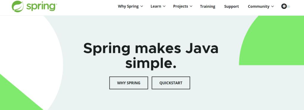 spring java framework,