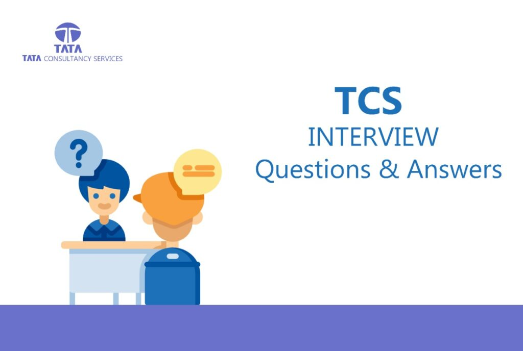 tcs interview question and answers