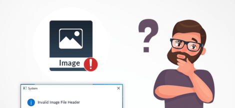 How to Solve JPG Invalid Image File Header Problem?