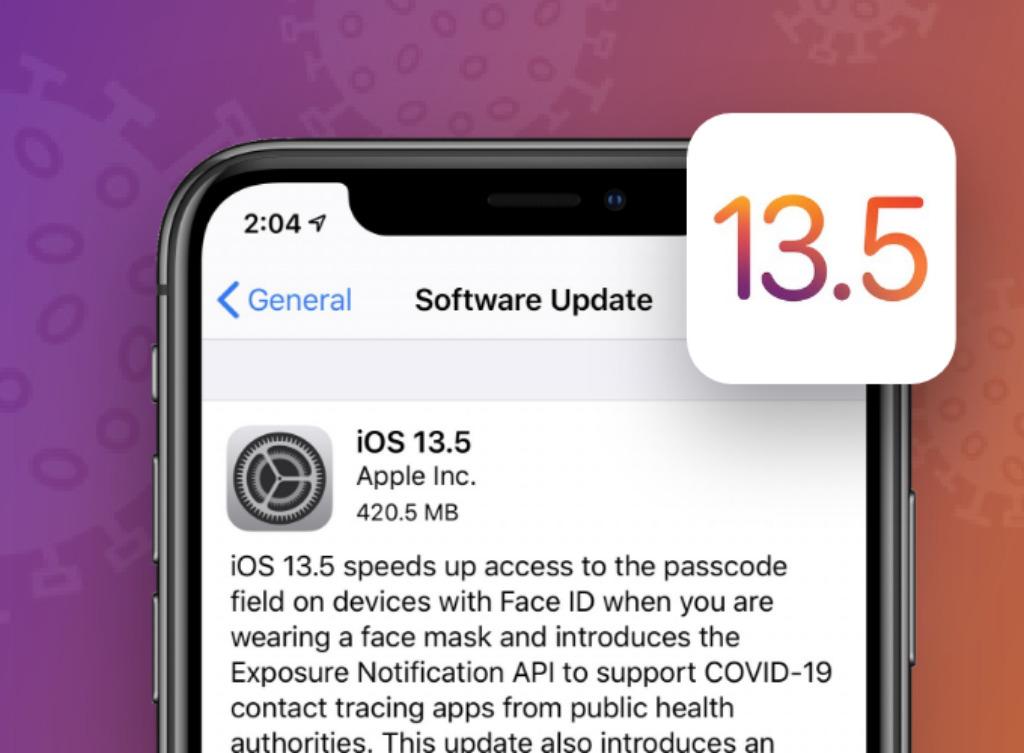 Apple iOS13.5 features
