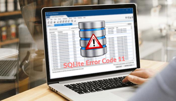 How To Fix SQLite Error Code 11 Malformed Database Schema?
