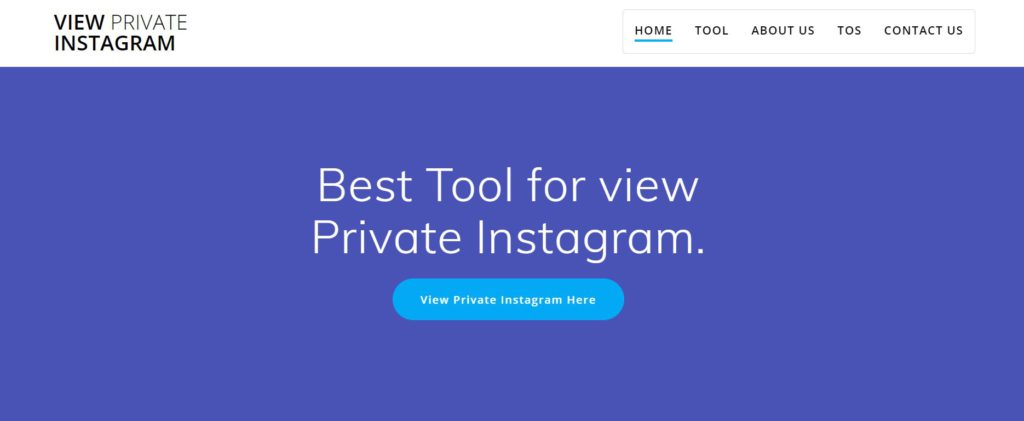 private Instagram profile view applications without Verification