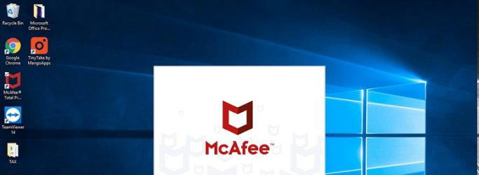 McAfee fix issue