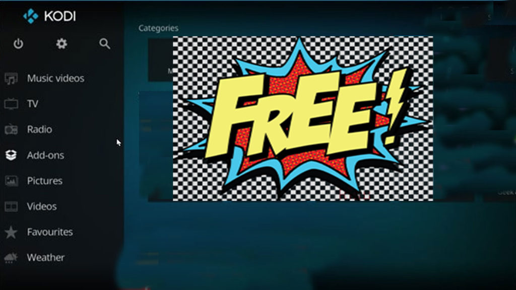 What can you watch on Kodi freely?