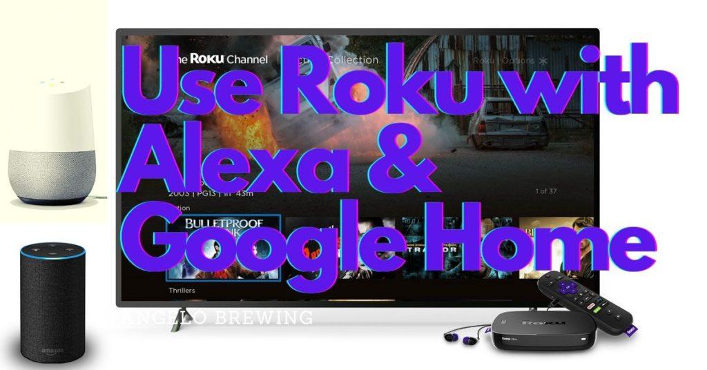 Control Roku with Alexa or Google Home