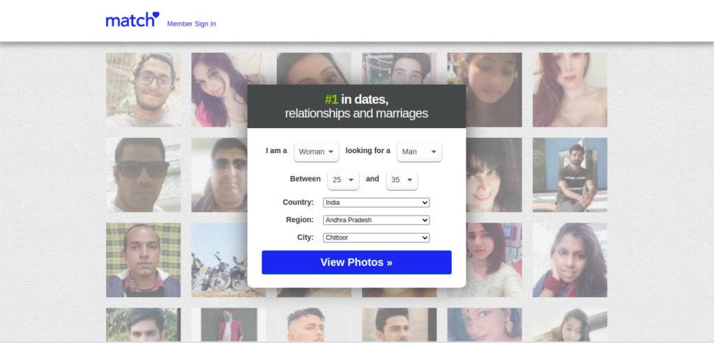 Match.com the adventurous dating app