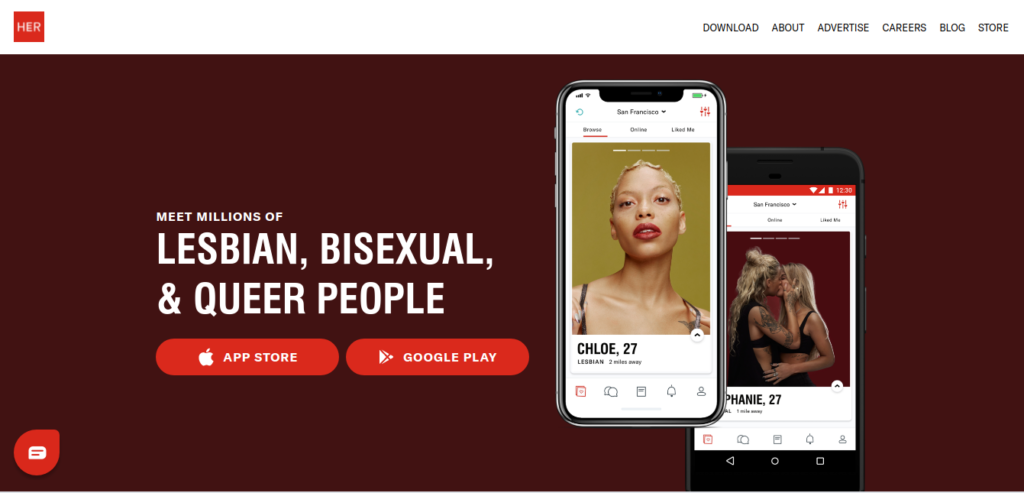 Best dating app for lesbian people.