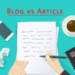 Learn the Difference Between a Blog And an Article