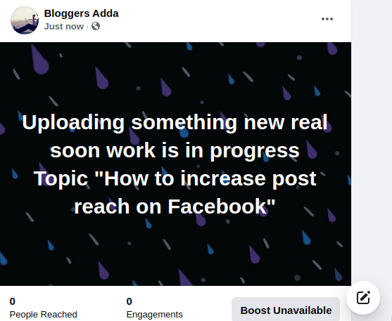 How to Increase Post Reach on Facebook Page