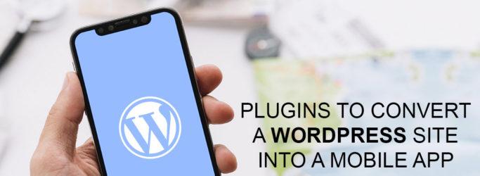 WordPress website into Mobile App